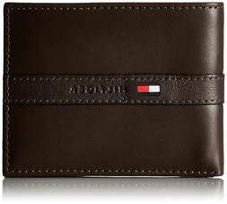 Tommy Hilfiger Men's Leather Credit Card Wallet Billfold Bro