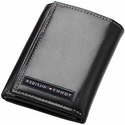 BRAND NEW TOMMY HILFIGER MEN'S LEATHER CREDIT CARD WALLET TR