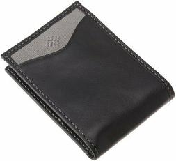 Columbia Men's Leather Slim Front Pocket Money Clip Wallet ,