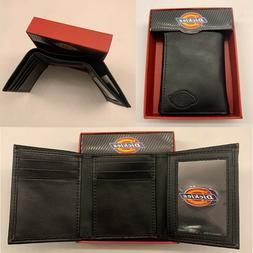 ECKO UNLTD MEN'S COATED LEATHER BLACK BIFOLD COIN POCKET FLI