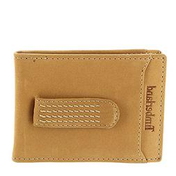 Timberland Men's Boot Leather Money Clip Wheat One Size
