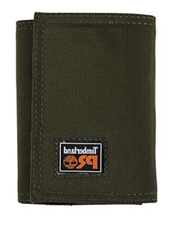 Timberland PRO Men's Cordura Nylon RFID Trifold Wallet with