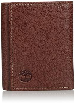 Timberland Men's Genuine Leather RFID Blocking Trifold Secur