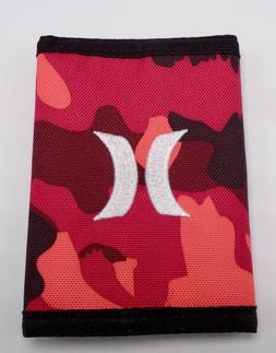 Hurley Men's Honor Roll Camo TriFold Wallet Color Camo Varie