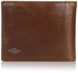 Fossil Men's International Combination Wallet, Ryan-Dark Bro