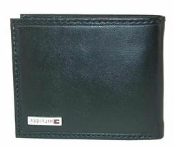 Tommy Hilfiger Men's Leather Fordham Bifold Wallet with Coin