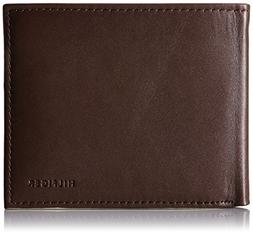 Tommy Hilfiger  Men's  Leather Passcase Wallet,Donny Brown