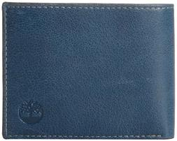 Timberland Men's Leather Wallet with Attached Flip Pocket, N