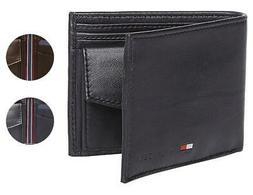 Tommy Hilfiger Men's Premium Coin Pouch Credit Card ID Walle