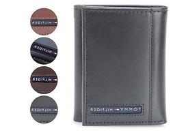 Tommy Hilfiger Men's Premium Leather Credit Card ID Wallet T