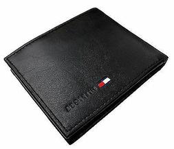 Tommy Hilfiger Men's Premium Leather Id Credit Card Coin Wal