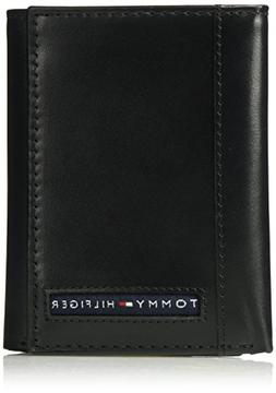 Tommy Hilfiger Men's RFID Blocking Leather Cambridge Extra C