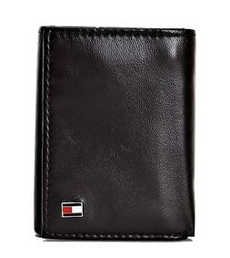 Tommy Hilfiger Men's RFID Blocking Leather Trifold Wallet In