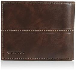 Dockers Men's Slim Pocketmate Wallet with Removable Card Hol