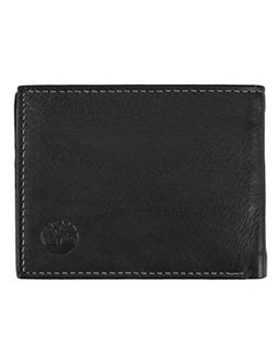Timberland Men's Wellington RFID Leather Bifold Wallet Trifo