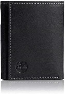 Timberland Men's Slim Trifold Wallet Soft Genuine Leather ID