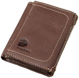 Carhartt Men's Trifold Wallet,Brown,One Size