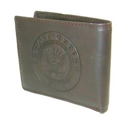US Armed Forces Collection Mens Genuine Leather Wallets - Gi