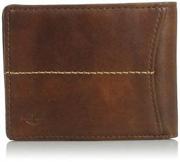 Dockers Mens Leather Extra Capacity Slimfold Wallet