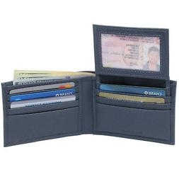 mens wallet genuine leather removable id card