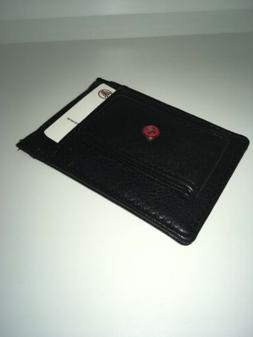 Alpine Swiss Mens Wallet Leather Money Clip Thin Slim RFID W