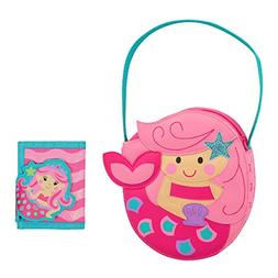 Stephen Joseph Girls Mermaid Purse and Wallet for Kids