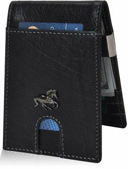 Estalon Metal Money Clip Wallets – Bifold Wallets Rfid Pro