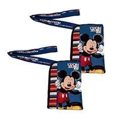 Disney Mickey Mouse Blue Lanyard 2 Pack