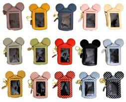 Mickey Mouse Inspired Wallets / ID Holders with Lanyard ~ Hu