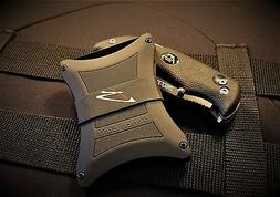 Military Grade Wallet 'Black' Tactical By Bench Built