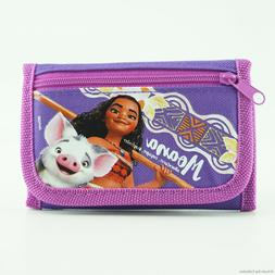 Disney Moana Wallet for Girls Kids Children with Pig Pua Tri