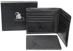 Mt. Eston RFID Blocking Mens Wallet with Removable ID Holder