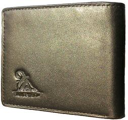 Mt. Eston RFID Blocking Trifold Bifold Mens Wallet, 18 Pocke