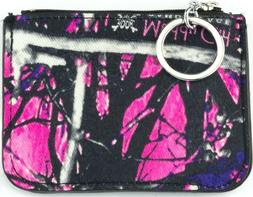 Muddy Girl Camo ID Coin Purse, Camouflage Wallet Key Chain