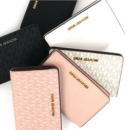 New Michael Kors Bifold Wallet Jet Set Slim