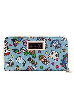 NEW Tokidoki Denim Daze AOP Long Wallet - SALE
