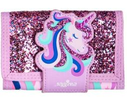 """NEW! SMIGGLE Kid's Wallet Purse for Girls, """"Fave"""" 🦄✨Gli"""
