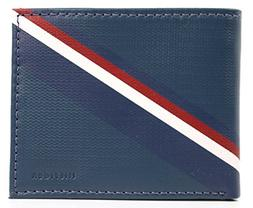 New Tommy Hilfiger Men's Leather Double Billfold Passcase Wa
