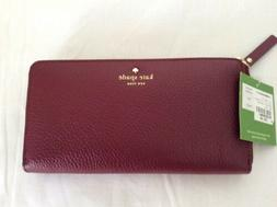 New Kate Spade New York York Cobble Hill Lacey Leather Merlo