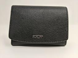 New Tumi Sinclair SLG Women's Trifold RFID Wallet * Black Co