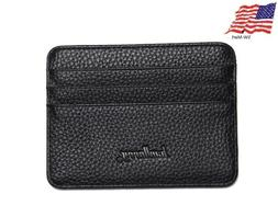 New Slim PU-Leather Wallet Card Holder ID Window Cash Pocket