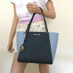 NWT Michael Kors Admiral Blue Leather Tote Bag or Wallet or