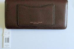 NWT MARC By Marc Jacobs Recruit Open Face Wallet in Chianti