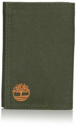 Timberland Nylon Trifold Wallet - Olive  BRAND NEW IN BOX