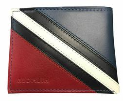 Tommy Hilfiger Passcase and Valet Bifold Wallet - 0091-4897/