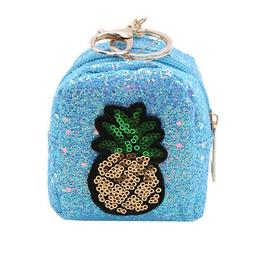 Pineapple Women Wallets Purse Sequin Ladies Coin Pocket For