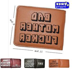 Pulp Fiction Jules Wallet with zipper Coin Pocket Bad Mother