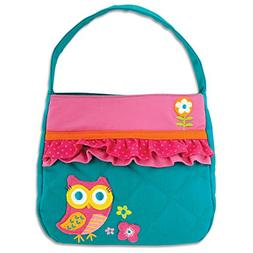 Stephen Joseph Quilted Purse, Owl