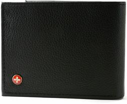 rfid blocking mens bifold wallet keep identity