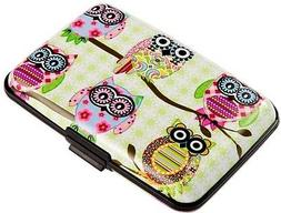 RFID Blocking Wallet Case for Women or Men, Theft Proof Cred